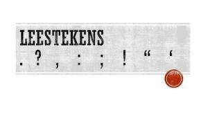 """Vlaamse Scholierenkoepel roept op: """"Zet een punt achter de leestekens!"""""""
