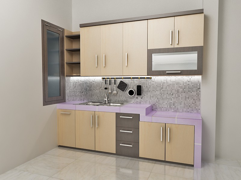 17 Model Kitchen Set Aluminium Terbaru