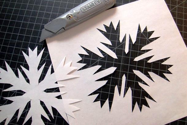 трафарет для декоративной штукатурки из бумаги