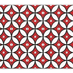 Geometrik Desenli Karo
