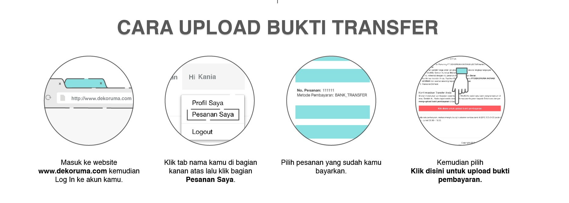 Metode Pembayaran Bank Transfer