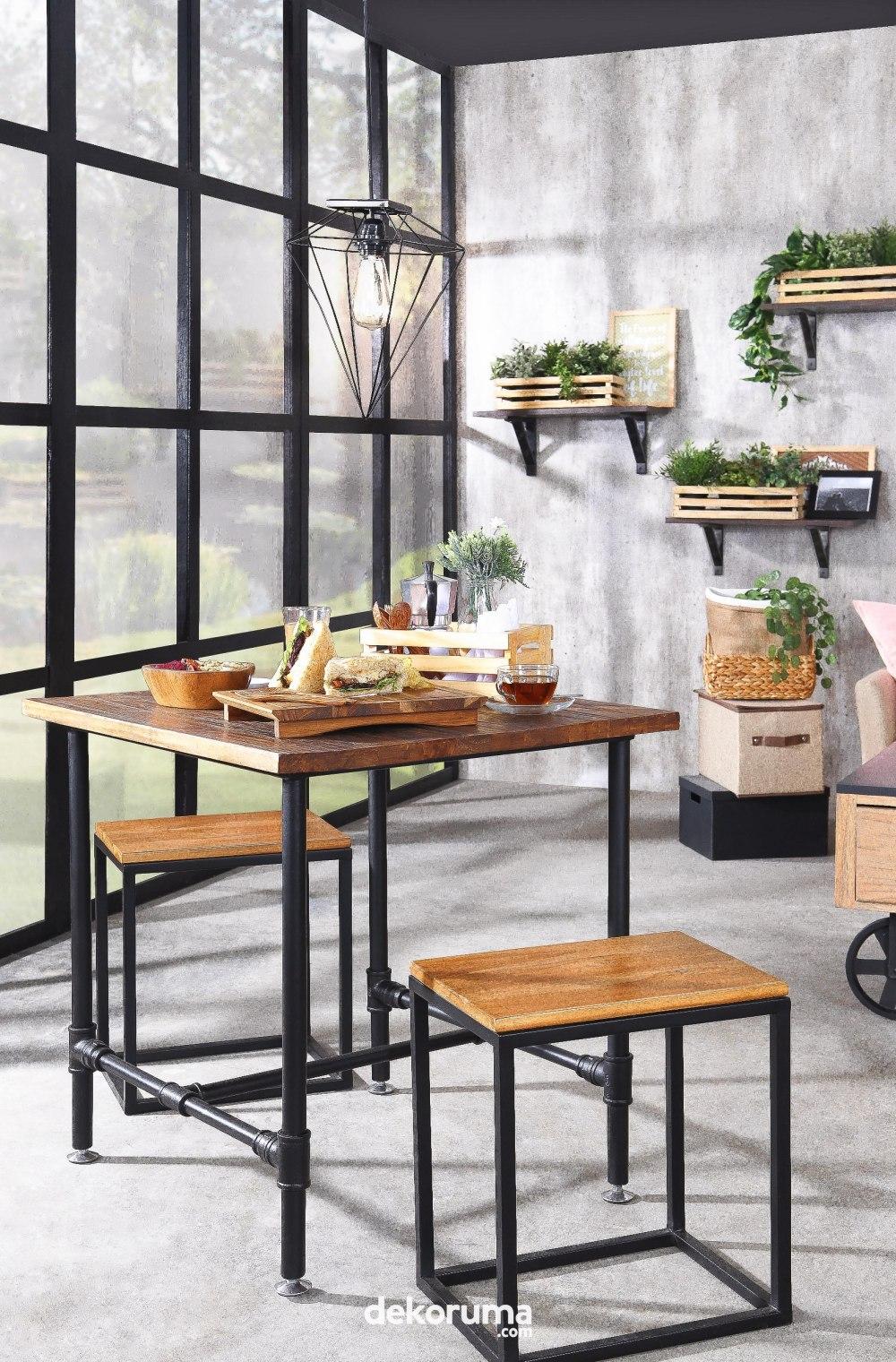 Berikan Sentuhan Gaya Industrial Untuk Desain Interior Kafe Dengan