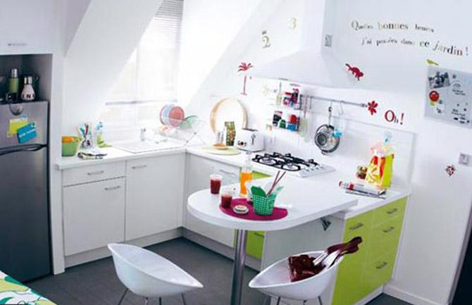 desain dapur ceria minimalis