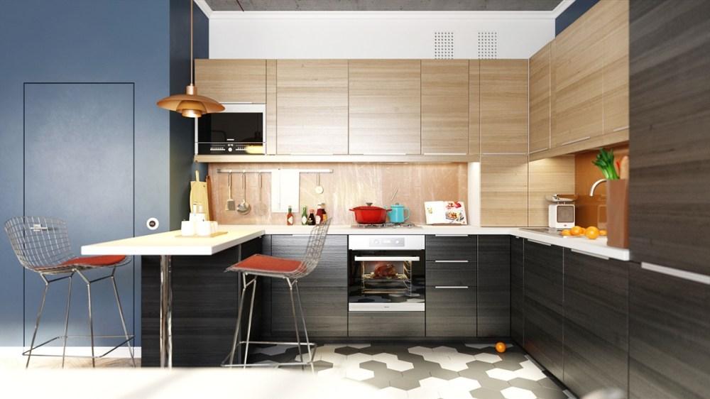04 Penataan kitchen set minimalis elegan [Sumber roohome.com]