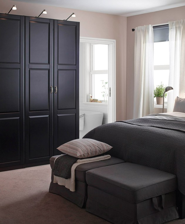 6 tips kreatif dekorasi kamar ukuran kecil. Black Bedroom Furniture Sets. Home Design Ideas
