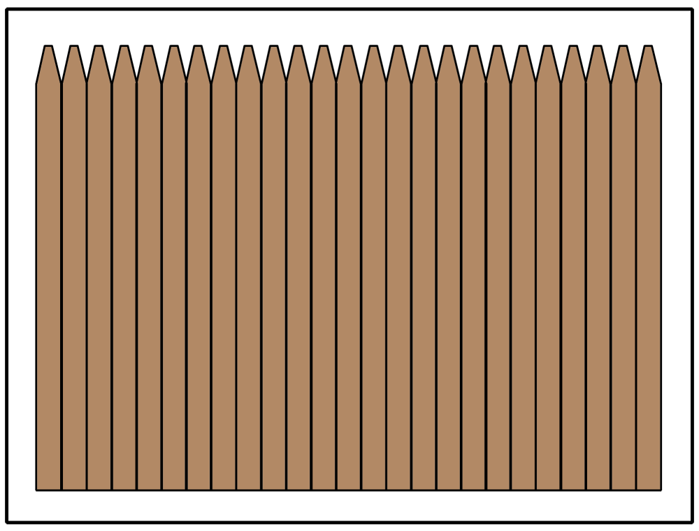 Ragam Desain Pagar Kayu Minimalis