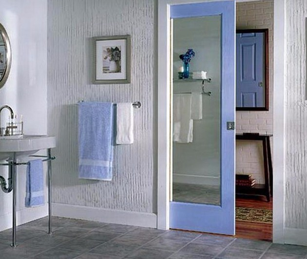Pintu kamar mandi minimalis