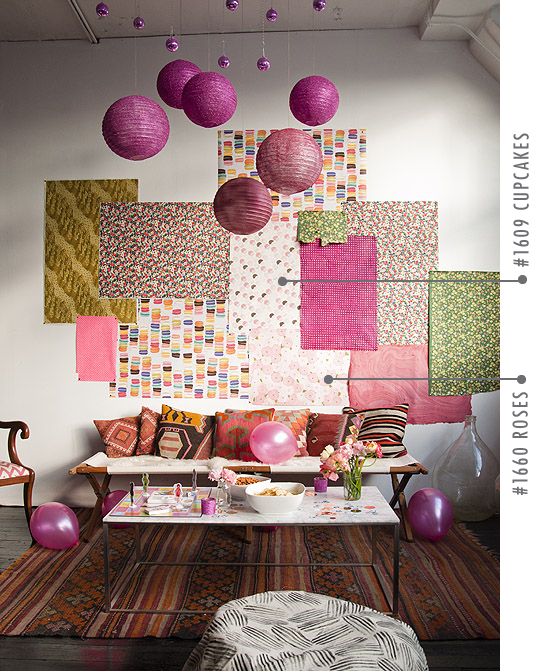 Hiasan Dinding Kamar Dari Kertas Kado : hiasan, dinding, kamar, kertas, Mengubah, Dinding, Lusuh, Dengan, Kertas