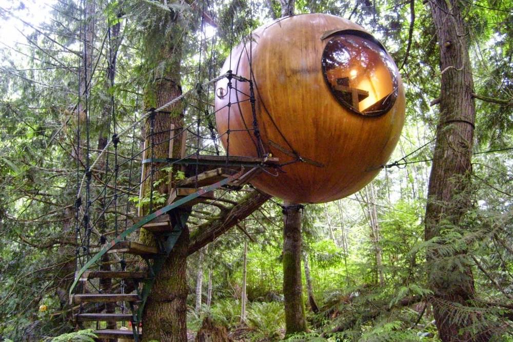 Rumah Pohon Bulat