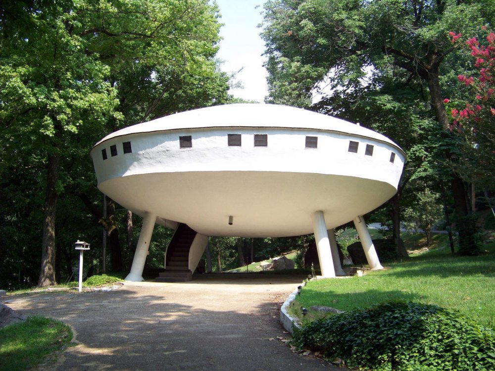 Rumah Unik Ufo