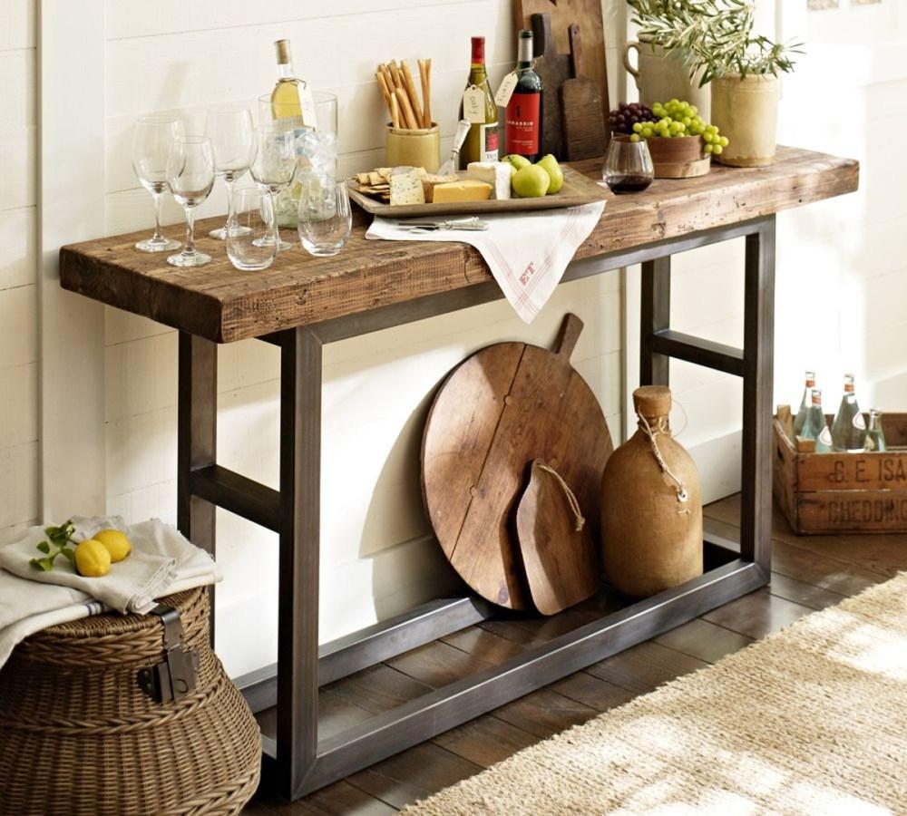 Meja Konsol Untuk Dekorasi Ruang Makan