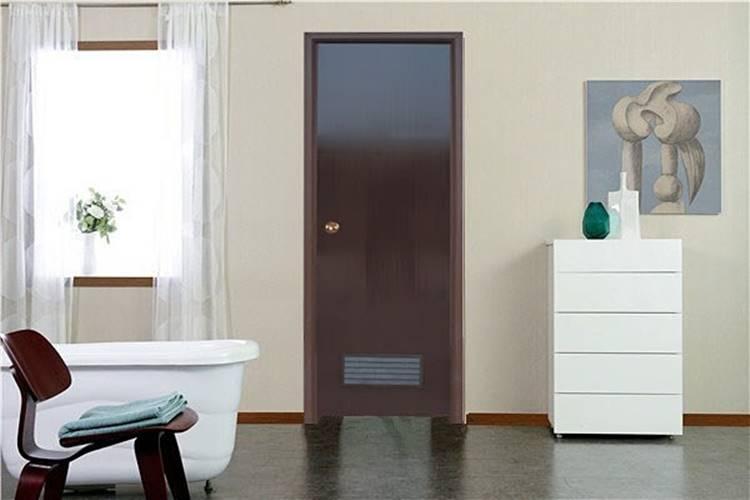 inspirasi desain pintu PVC