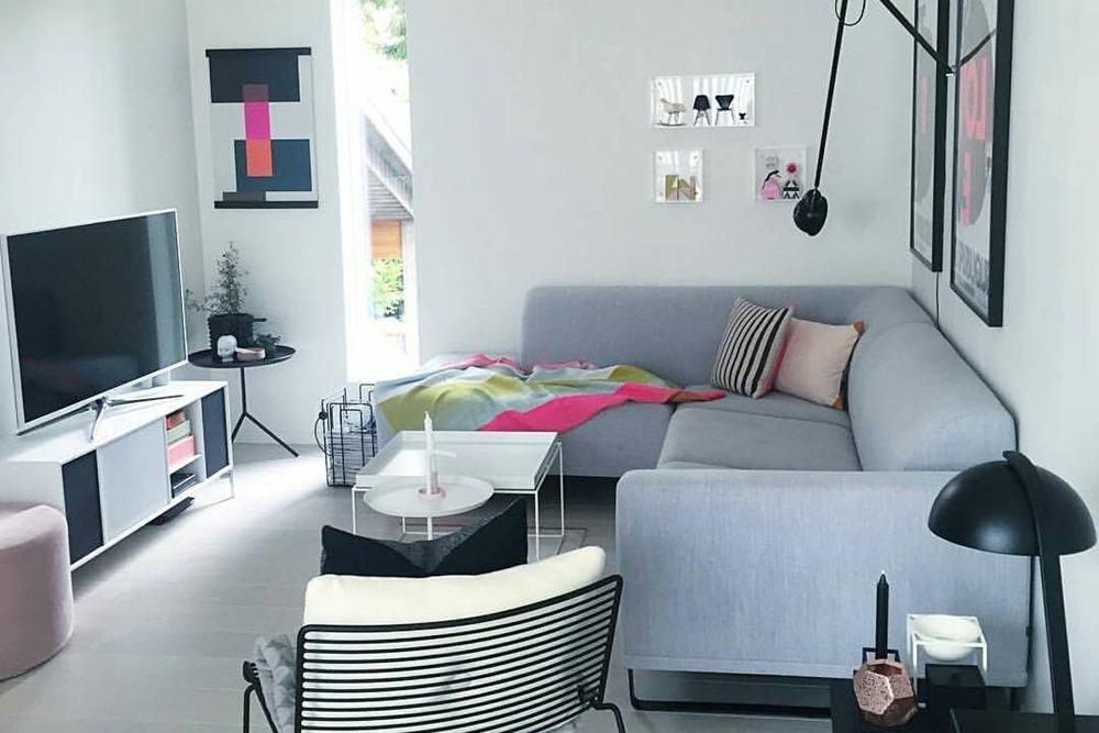 Ruang Keluarga Desain Minimalis