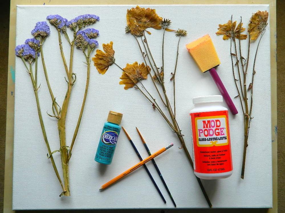 Kreasi hiasan dinding kamar super kreatif yang bisa kamu buat sendiri hiasan dinding kamar buatan sendiri bunga kering thecheapjerseys Image collections