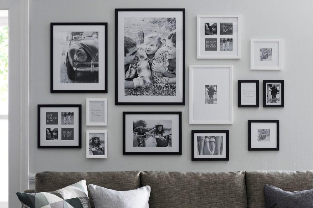 12 tips kolase bingkai foto yang membawa kamu bernostalgia for Abbellire le pareti di casa