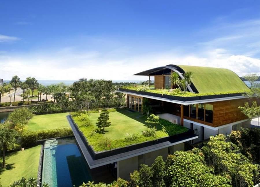 Desain Rumah Modern yang Eco-Friendly & 9 Desain Rumah Modern untuk Keluarga Tersayang
