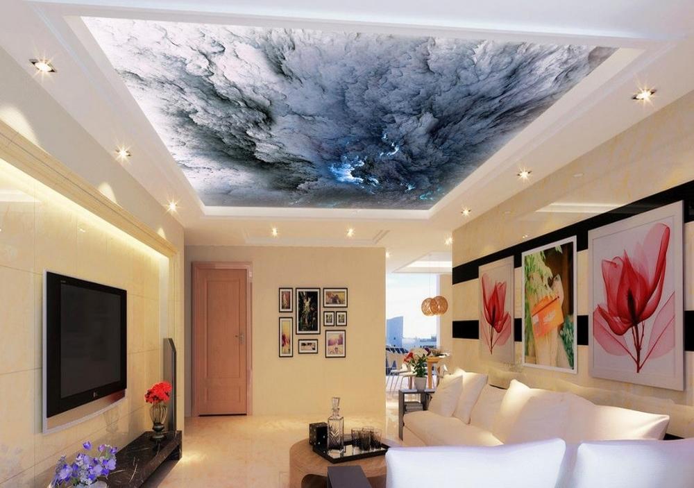 6 Inspirasi Desain Plafon  Rumah  Minimalis