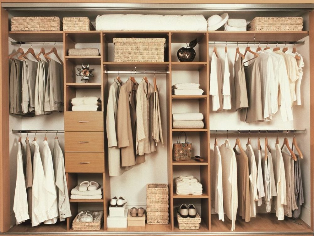 desain rumah minimalis sederhana kloset pakaian