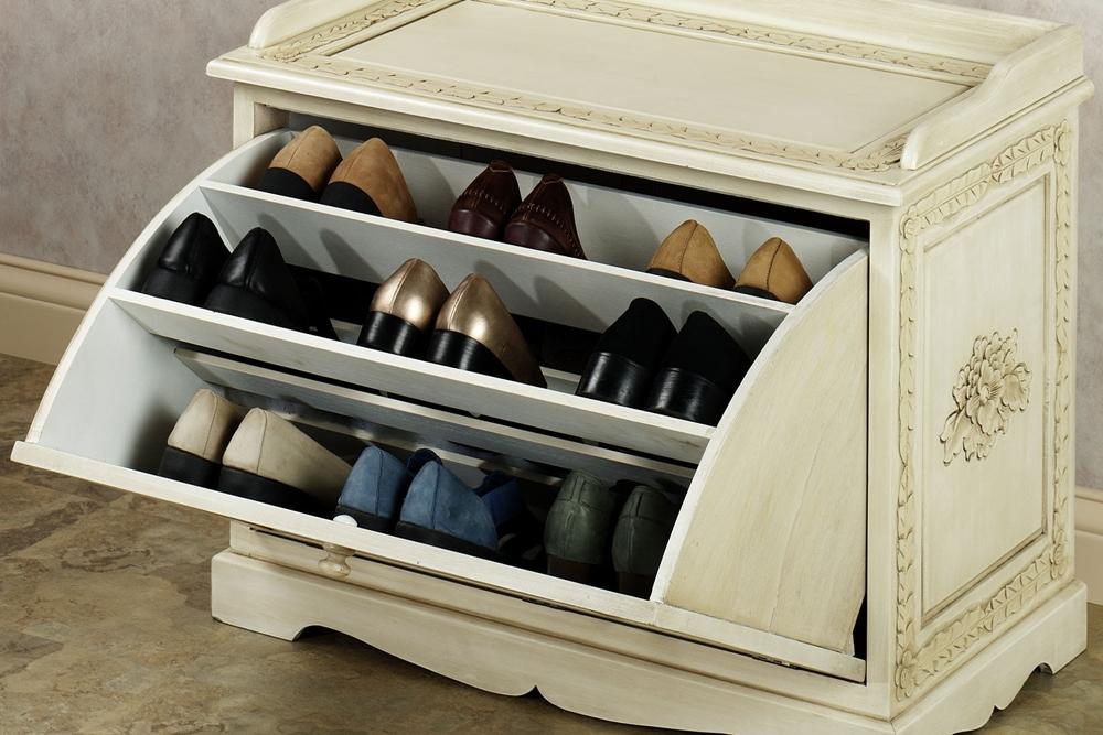 Rak Sepatu Model Laci