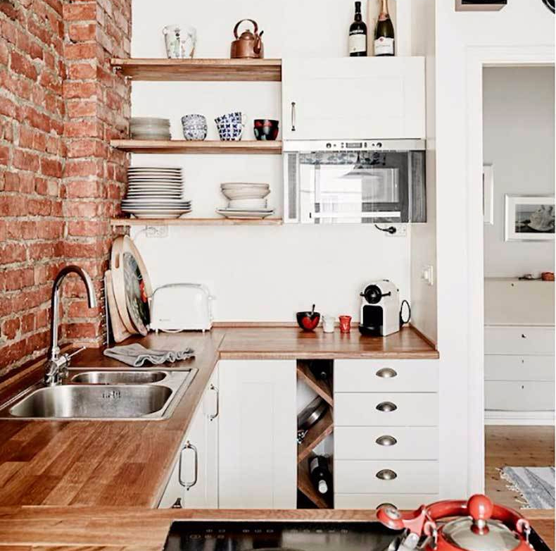 Kitchen Set Ruang Kecil: Ini Dia 7 Desain Dapur Minimalis 3 X 3 Apik Yang Fungsional