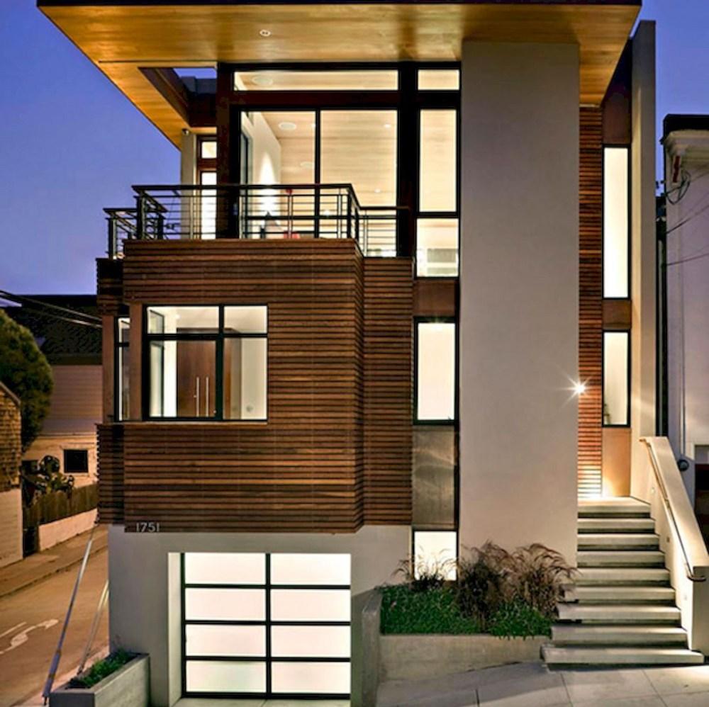 8 Desain Rumah 2 Lantai Mungil Ini Buat Keluarga Betah Di Rumah