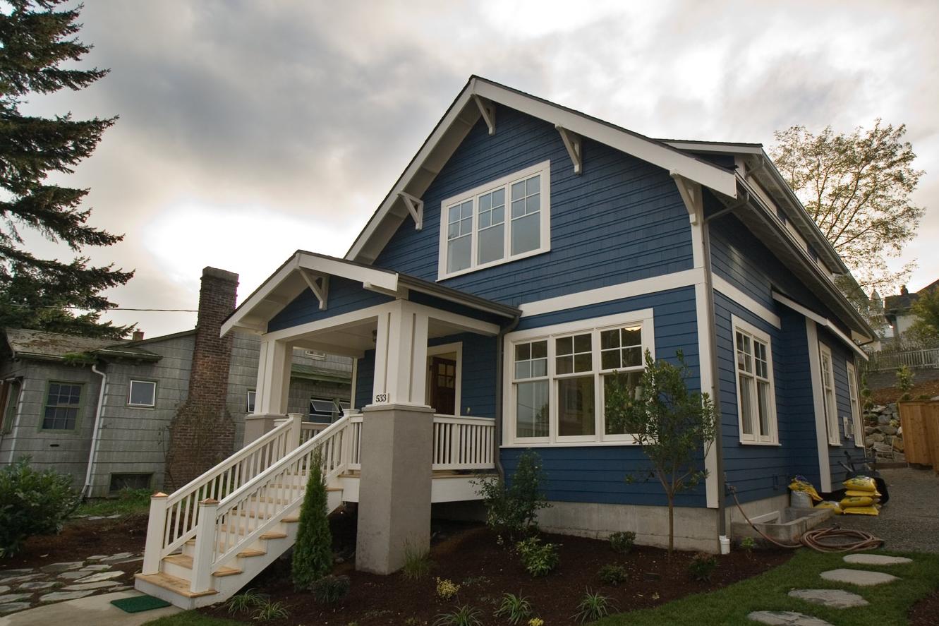 Warna Cat Rumah Grey | Desain Rumah