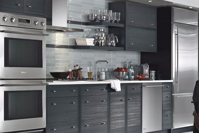Dapur Minimalis Ukuran 2x3 Mewah All Black
