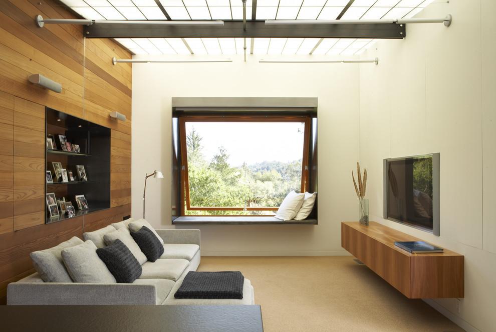 Furnitur Dinding TV Rumah Kecil