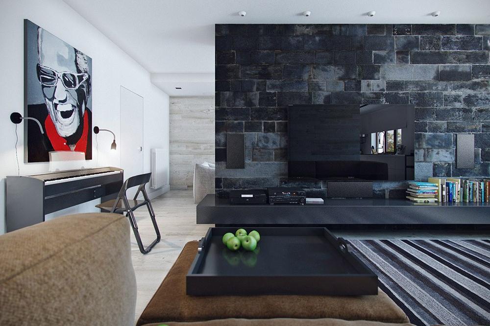 11 Kreasi Desain iKeramiki iBatui iAlami untuk Interior Rumah