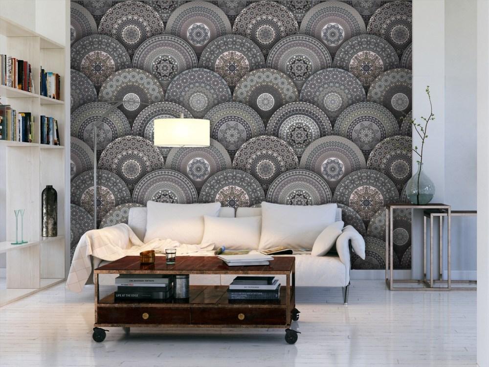 Dinding Indah Mandala Sebagai Dekorasi Rumah Utama