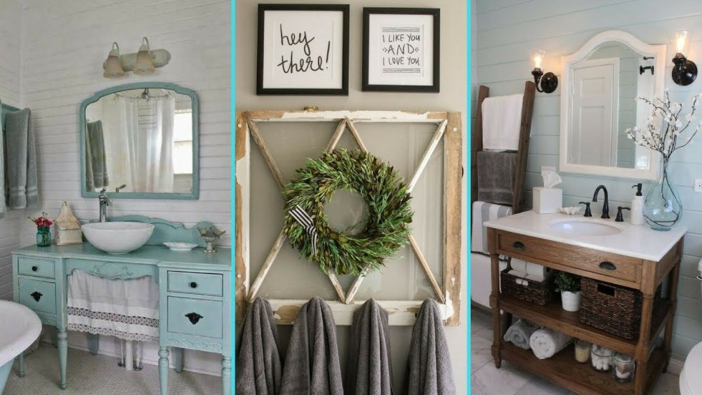 Home Decor Budgetista Bathroom Inspiration: 8 Ide Rumah Shabby Chic Untuk Rumah Kecil