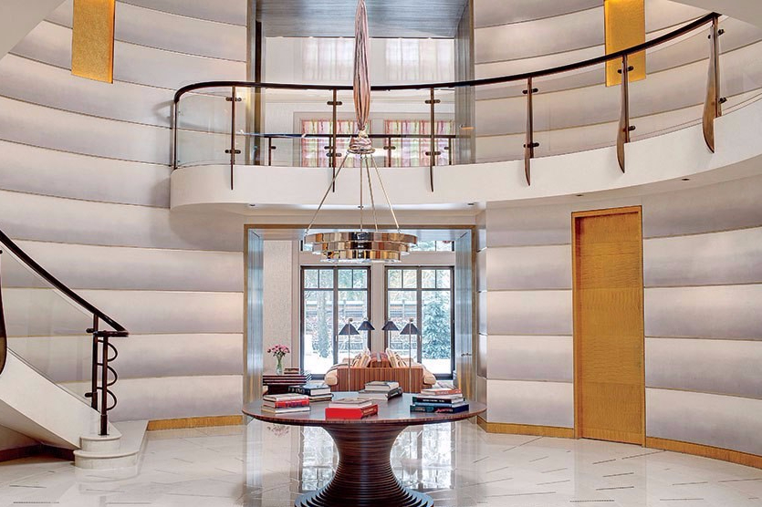 Desain Foyer Kontemporer dari Rusia