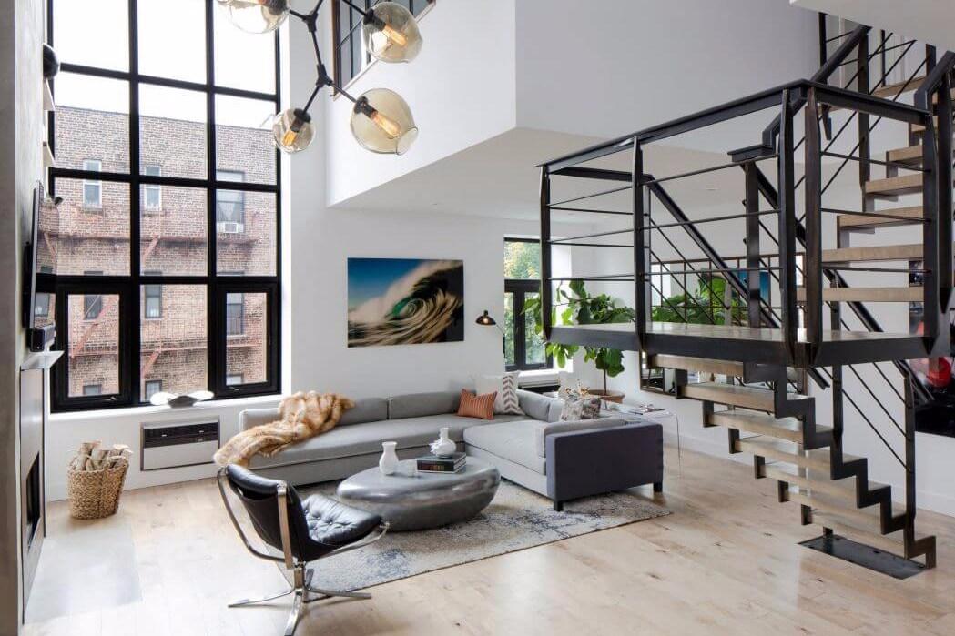 Desain-ruang-tamu-minimalis-ukuran-3x3-karya-Decor- & 10 Inspirasi Desain Ruang Tamu Minimalis Ukuran 3 x 3 untuk Rumah Kecil
