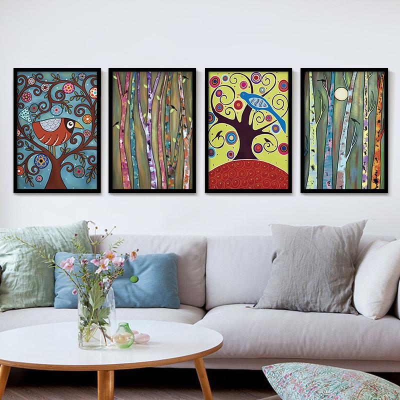 Seni Lukisan Rumah Sederhana Kecil