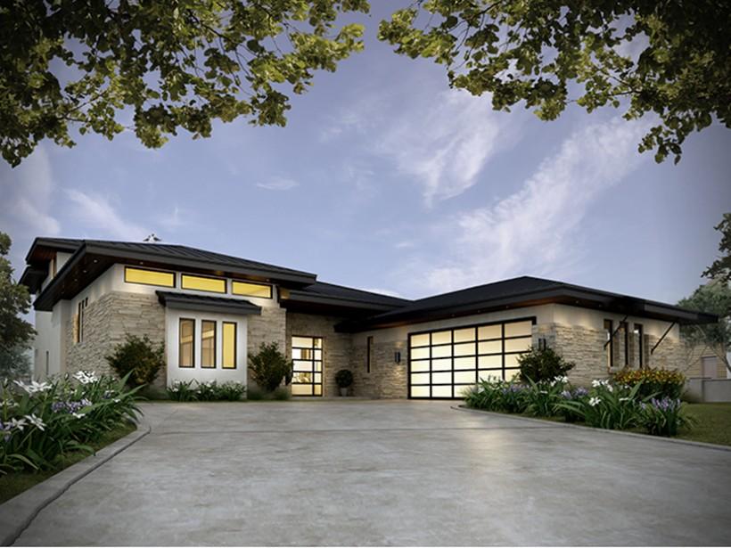 Arsitektur Rumah Kontemporer