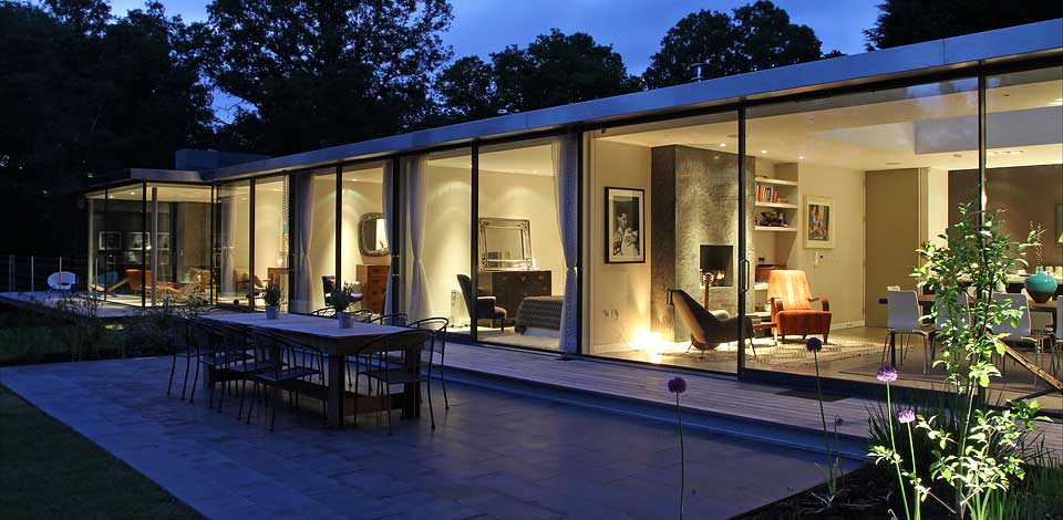 Arsitektur Rumah Modern Glass House