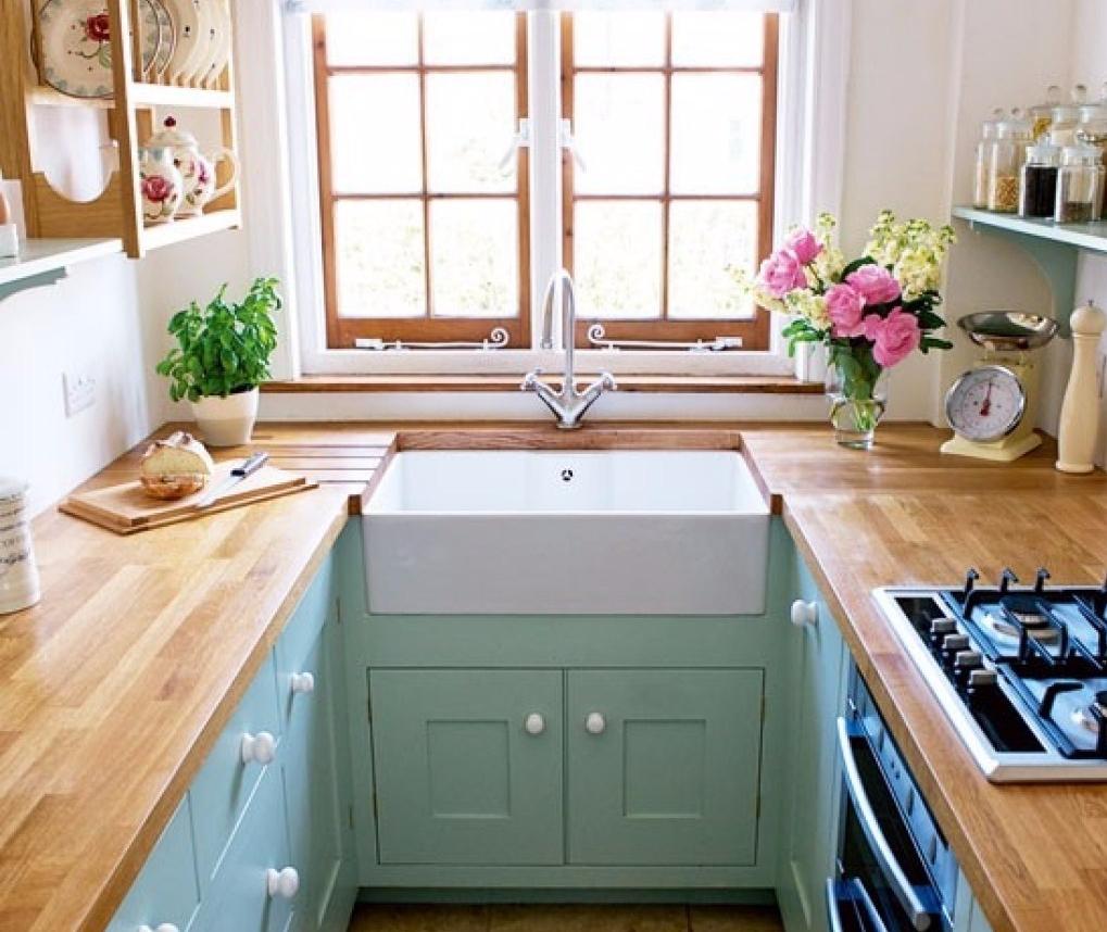 12 Inspirasi Desain Dapur Kecil Favorit Para Ibu