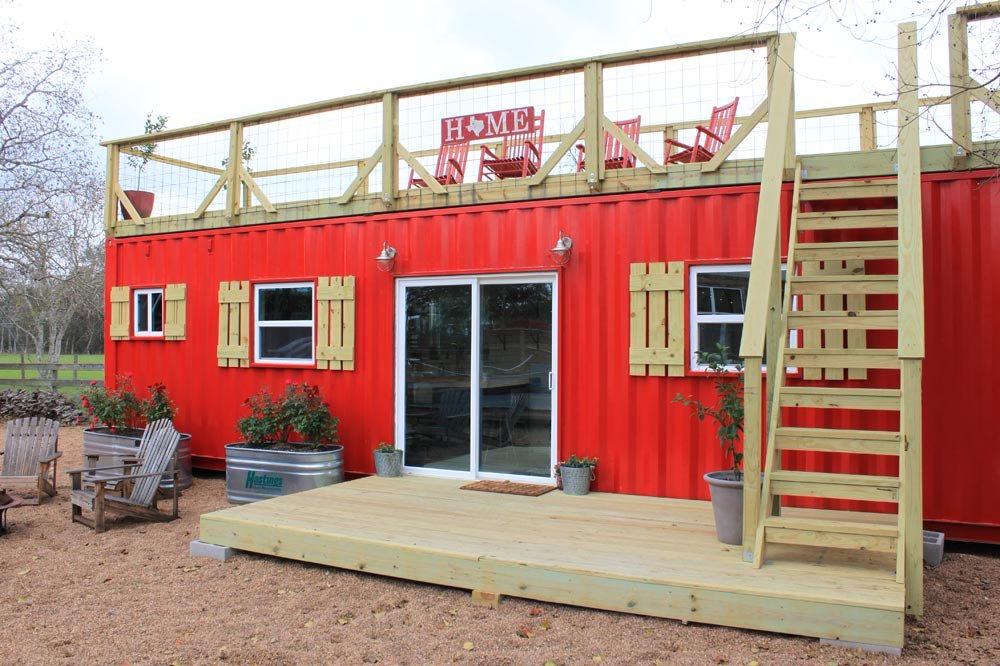 Desain Rumah Kayu Rustic Retreat XL