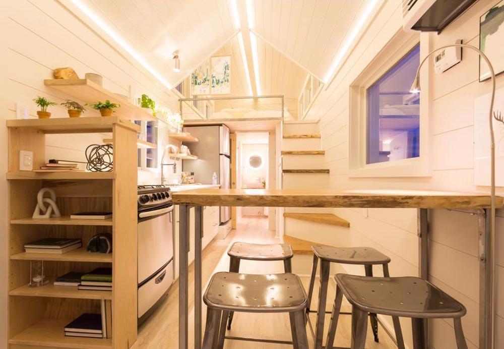 Desain Rumah Kayu Elsa by Olive Nest Tiny Homes