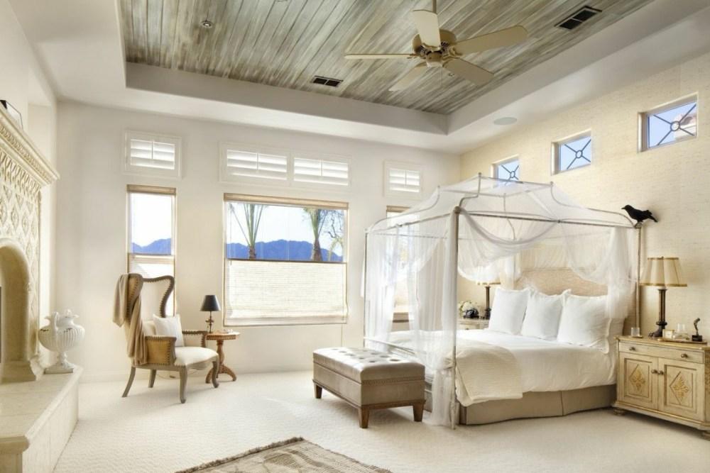 Desain interior kamar Mediterania