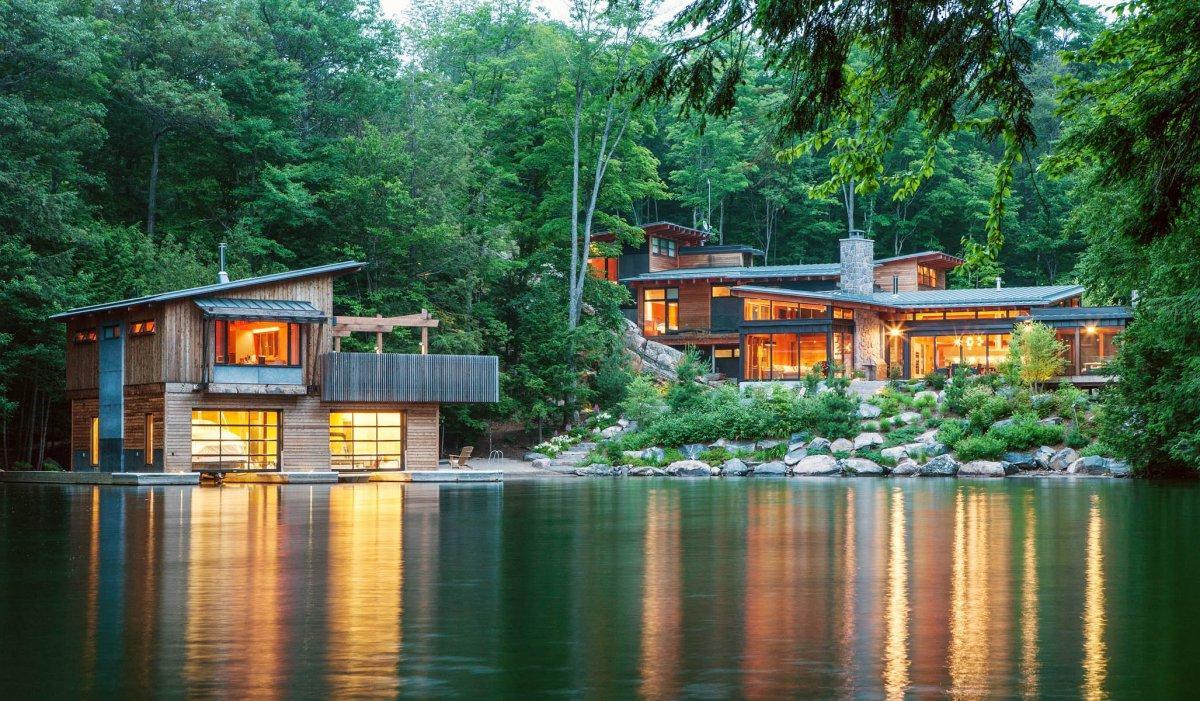 4000 Koleksi Gambar Rumah Gedek Modern Terbaik