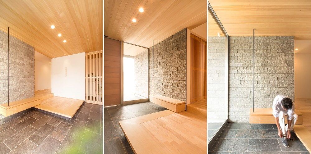Foyer Modern Minimalis : Yuk intip sejuknya desain rumah jepang yang asri