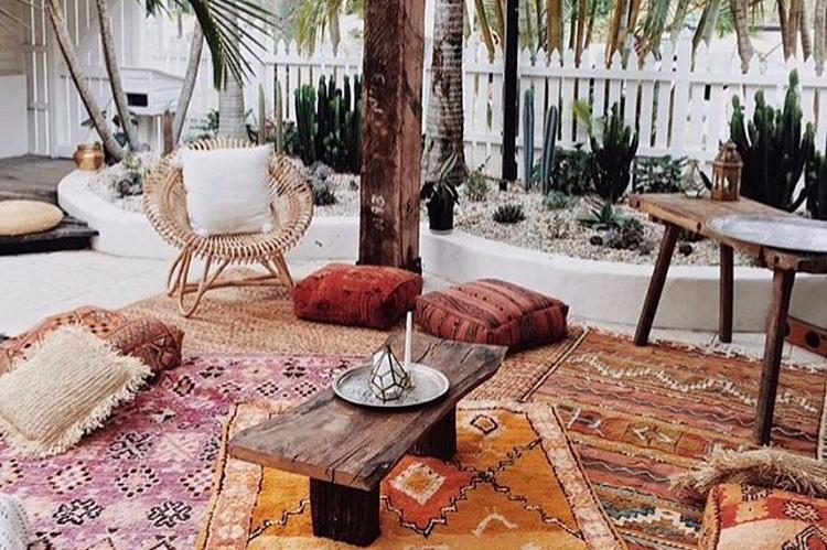 Desain Apartemen Bohemian Modern