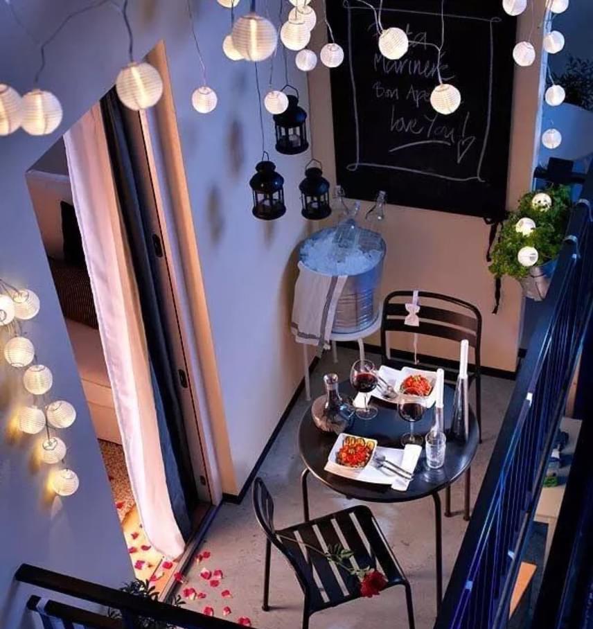 rumah sederhana dan elegan lampu