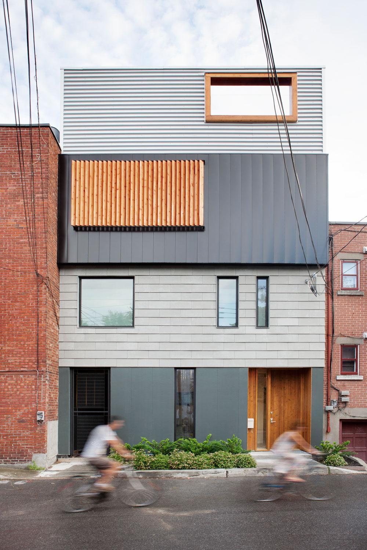 rumah tingkat minimalis the stacked house