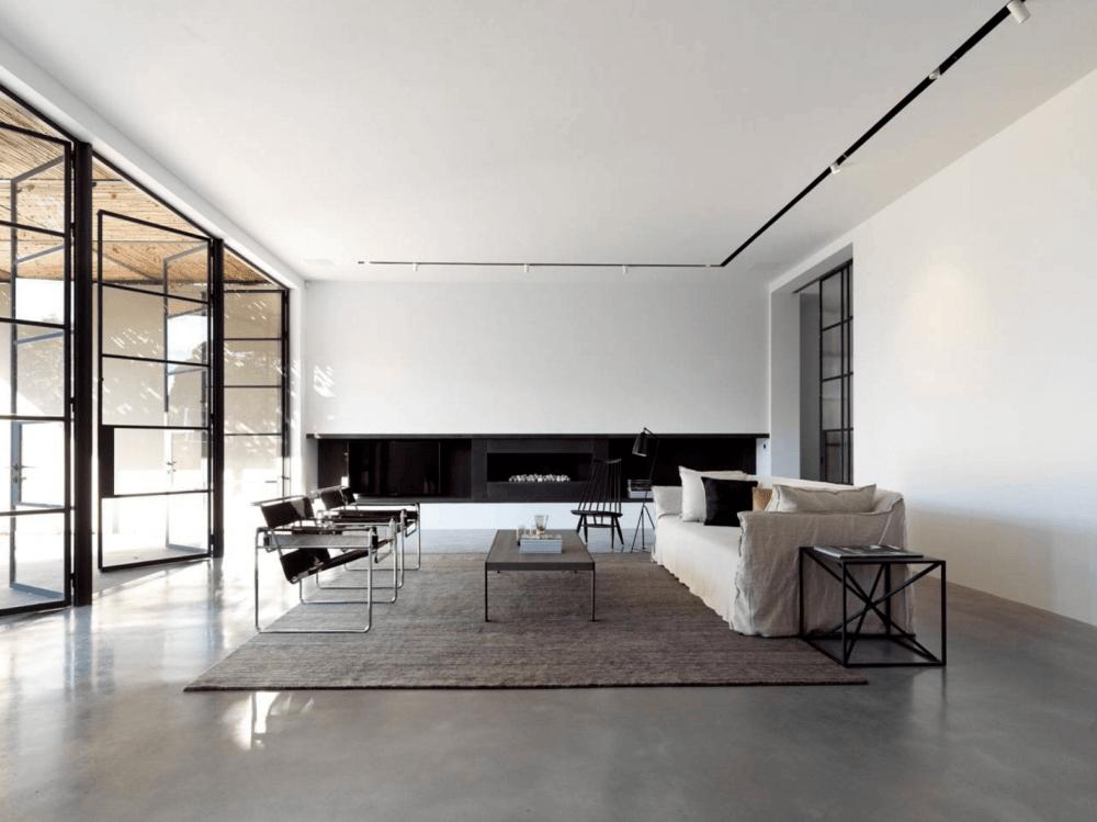 Arsitektur Rumah Minimalis Ruang Terbuka