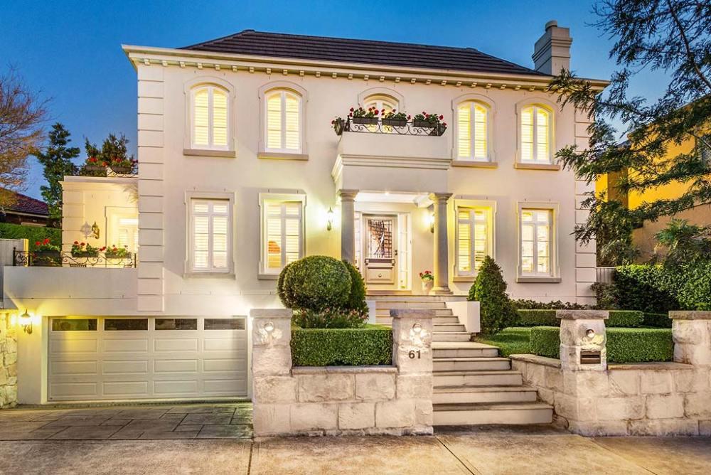 Fasad Rumah Klasik