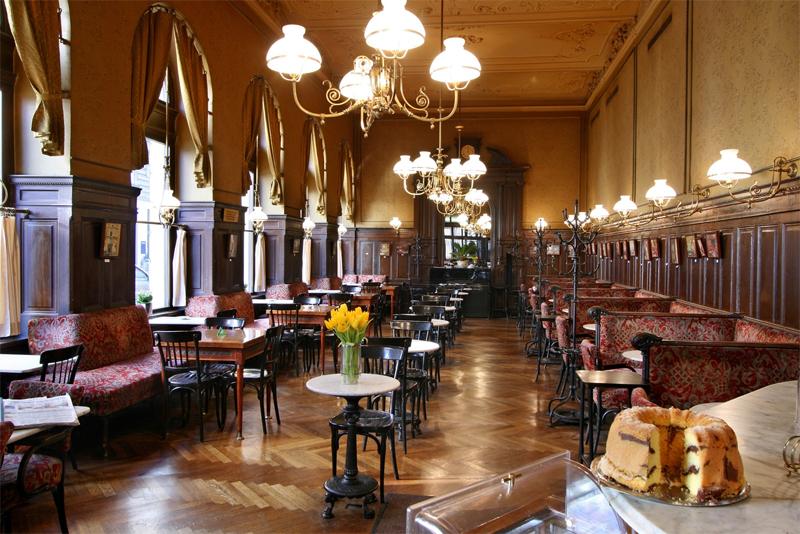 Interior Cafe Vienna