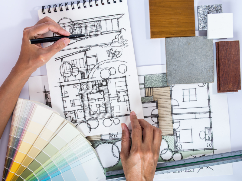 Jasa Desain Rumah Sketsa