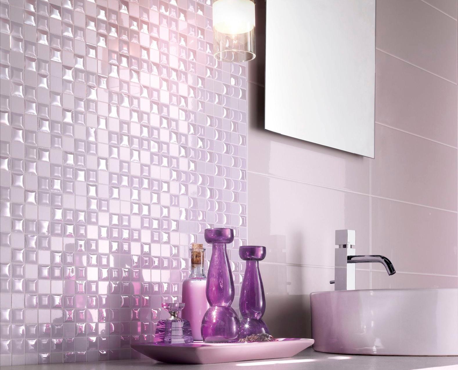 Keramik Lantai Kamar Mandi Warna Ungu Desain Rumah